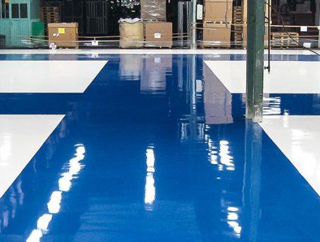 Industrila Epoxy Flooring